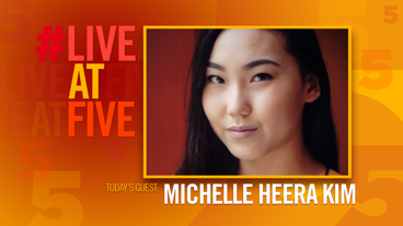 Broadway.com #LiveatFive with Michelle Heera Kim of <i>Somebody's Daughter</i>