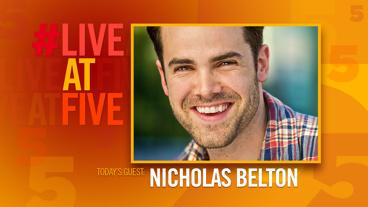 Broadway.com #LiveatFive with Nicholas Belton of The Great Comet