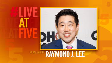 Broadway.com #LiveatFive with Raymond J. Lee of Groundhog Day