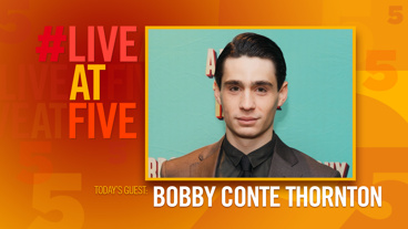 Broadway.com #LiveAtFive with Bobby Conte Thornton of A Bronx Tale