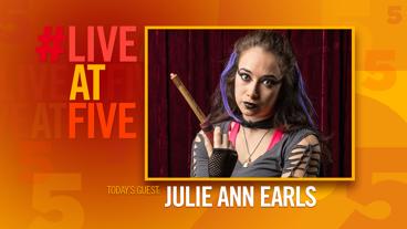 Broadway.com #LiveatFive with Julie Ann Earls of <i>Puffs</i>