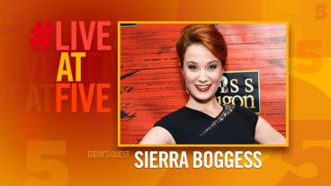 Broadway.com #LiveatFive with Sierra Boggess