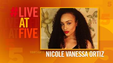 Broadway.com #LiveatFive with Nicole Vanessa Ortiz of <i>Spamilton</i>