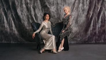 Jackie Burns and Amanda Jane Cooper