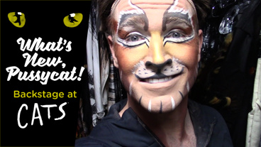 Backstage at Cats with Tyler Hanes, Episode 13: Costumes & Cake