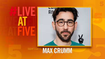 Broadway.com #LiveatFive with Max Crumm of <i>Hot Mess</i>