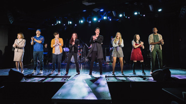 The company of off-Broadway's Cruel Intentions