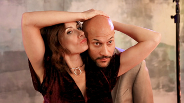 The Broadway.com Show: Laugh with Meteor Shower's Laura Benanti & Keegan-Michael Key at This Glam Photo Shoot