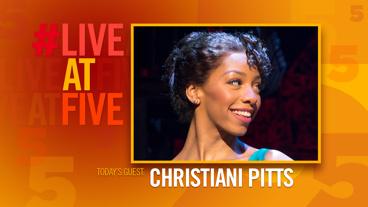 Broadway.com #LiveatFive with Christiani Pitts of A Bronx Tale