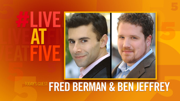 Broadway.com #LiveatFive with Fred Berman and Ben Jeffrey of The Lion King