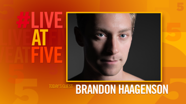 Broadway.com #LiveatFive with Brandon Haagenson of <i>Afterglow</i>