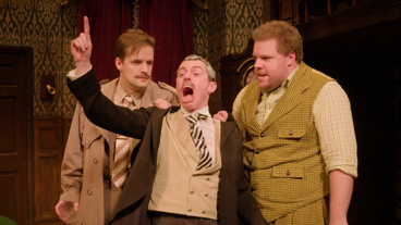 Learn About the Outrageous British Comedy <I>The Play That Goes Wrong</I>