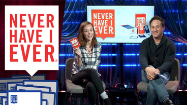 Take A Dive Inside The Pie with Waitress' Christopher Fitzgerald and Caitlin Houlahan in Never Have I Ever