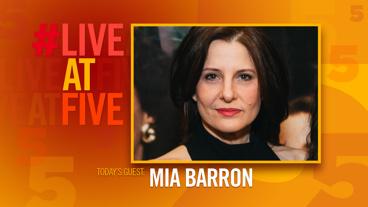 Broadway.com #LiveatFive with Mia Barron of <i>The Wolves</i>