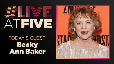 Broadway.com #LiveatFive with Becky Ann Baker of Cardinal