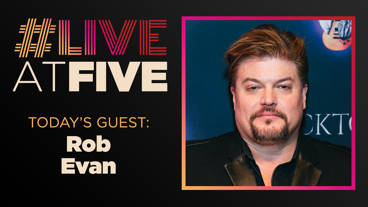 Broadway.com #LiveatFive with Rob Evan of Rocktopia