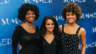 Summer: The Donna Summer Musical trio LaChanze, Storm Lever and Ariana DeBose get together.