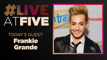 Broadway.com #LiveatFive with Frankie J. Grande of <i>Cruel Intentions</i>