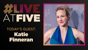 Broadway.com #LiveatFive with Katie Finneran of <i>Edward Albee's At Home At the Zoo</i>