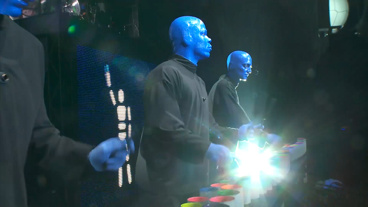 Learn All About Off-Broadway's Colorful <I>Blue Man Group</I>