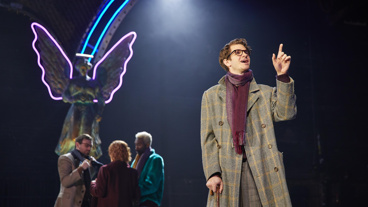 Andrew Garfield as Prior Walter in Angels in America.