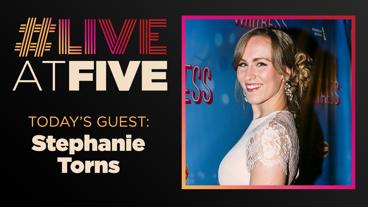 Broadway.com #LiveatFive with Stephanie Torns of Waitress