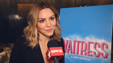 The Broadway.com Show: Smash Alum Katharine McPhee Digs into Waitress