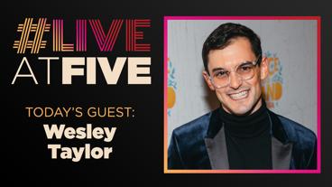 Broadway.com #LiveatFive with Wesley Taylor of SpongeBob SquarePants