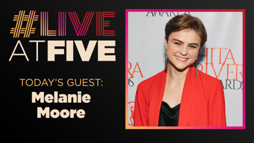 Broadway.com #LiveatFive with Melanie Moore of <i>Hello, Dolly!</i>