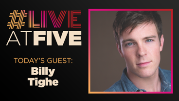 Broadway.com #LiveatFive with Billy Tighe of Sweeney Todd: The Demon Barber of Fleet Street