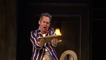Enjoy These Madcap Clips from Broadway's <I>Travesties</I>, Starring Tom Hollander