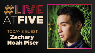 Broadway.com #LiveatFive with Zachary Noah Piser of Sweeney Todd