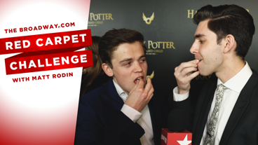 Test Your Taste Buds with this Red Carpet Challenge from the Opening Night of Harry Potter and the Cursed Child
