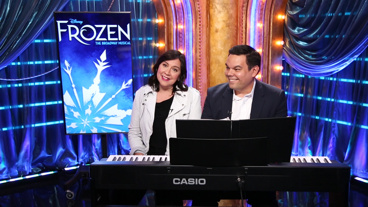 The Broadway.com Show: Robert Lopez & Kristen Anderson-Lopez Sit at the Piano & Discuss Bringing Frozen to the Great White Way