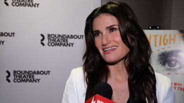 <I>The Broadway.com Show</I>: Idina Menzel Talks About Her New York Stage Return in Joshua Harmon's Sexy <I>Skintight</I>