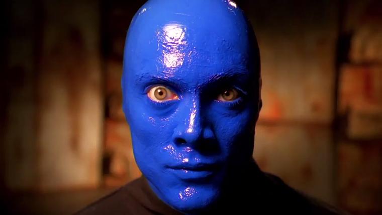 get a sneak peek at off broadways blue man group videos broadwaycom