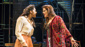 Shanay Holmes as Joanne and Lucie Jones as Maureen in Rent.