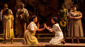 Adrianna Hicks (Celie), N'Jameh Camara (Nettie) & the North American tour cast of The Color Purple, photo by Matthew Murphy