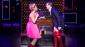 Kirstin Maldonado as Lauren and Jake Shears as Charlie in Kinky Boots.