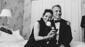 Awww! The Band's Visit's Tony-winning star Katrina Lenk and director David Cromer hug it out.