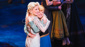 Love is an open door and Frozen is officially open on Broadway! Stars Caissie Levy and Patti Murin hug it out.